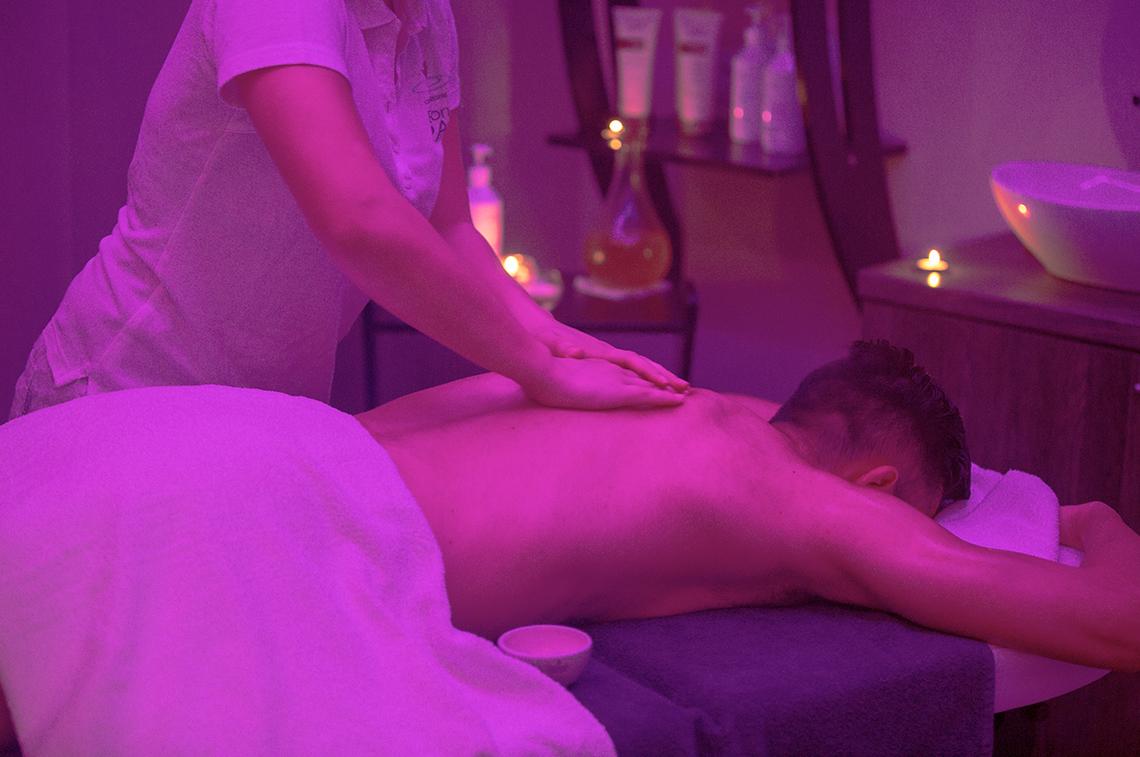 massaggi sulla schiena